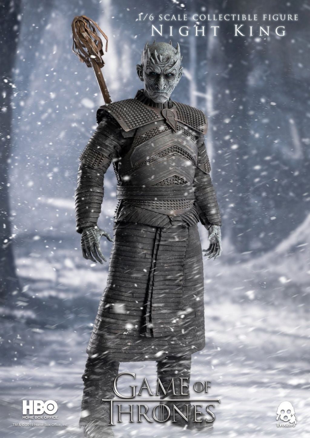 "fantasy - NEW PRODUCT: ThreeZero: 1/6 ""Game of Thrones"" - Night King / Night King 11002910"