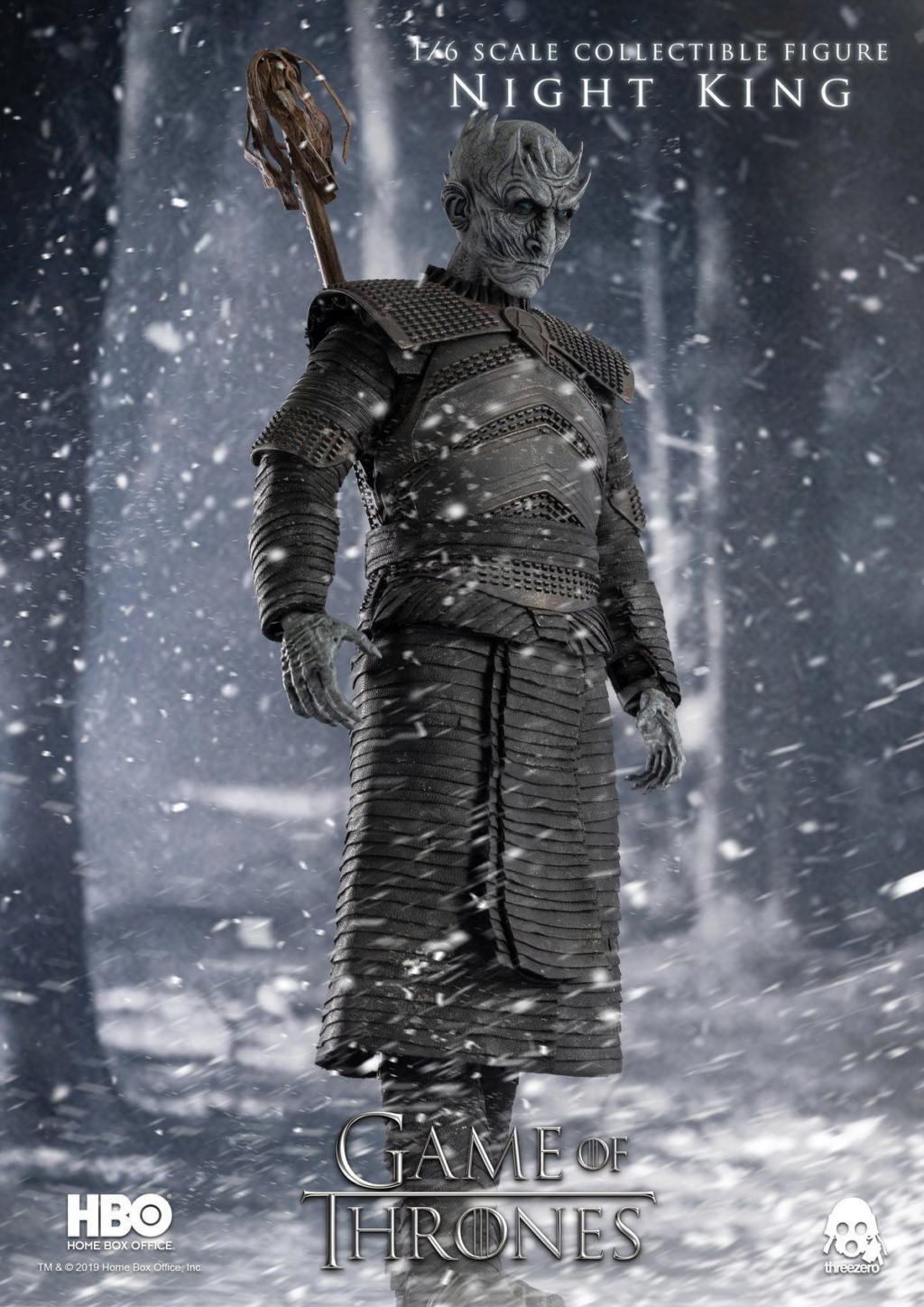 "fantasy - NEW PRODUCT: ThreeZero: 1/6 ""Game of Thrones"" - Night King / Night King 11003310"