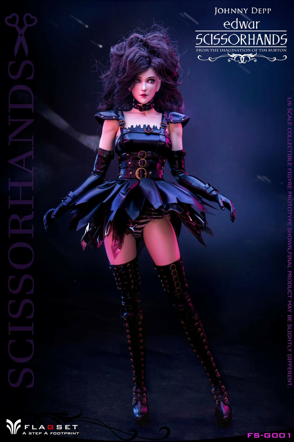 Stylized - NEW PRODUCT: Flagset: 1/6 Edwar Scissorhands (FS-G001#) (NOT A MISSPELLING, AND NOT WHAT YOU THINK) 11004310