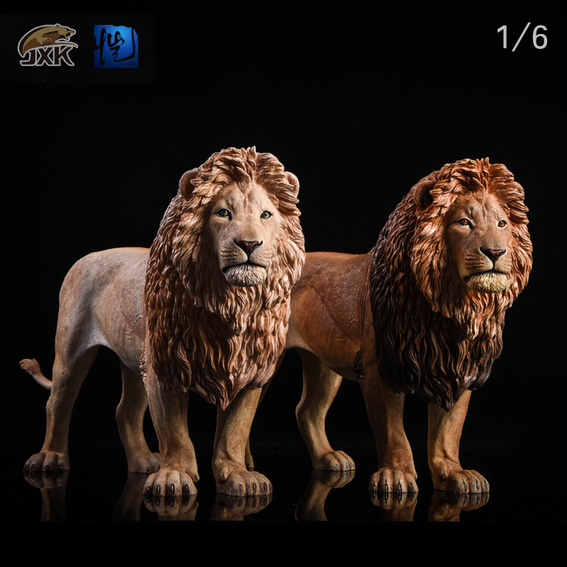 NEW PRODUCT: JXK New 1/6 Lion 2.0 Animal Model GK 11005