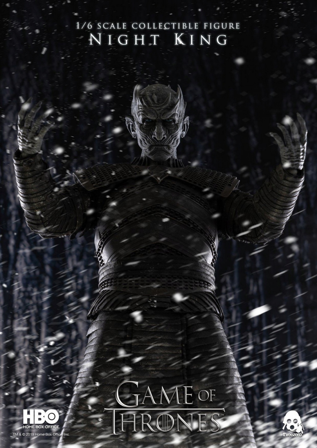 "fantasy - NEW PRODUCT: ThreeZero: 1/6 ""Game of Thrones"" - Night King / Night King 11005011"