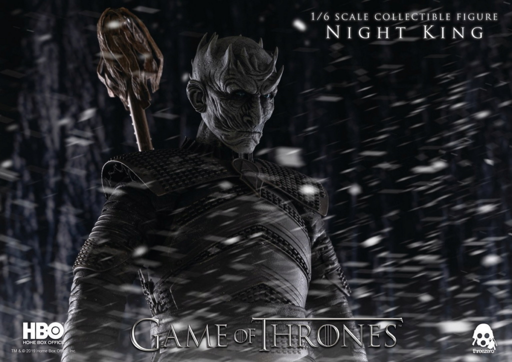 "fantasy - NEW PRODUCT: ThreeZero: 1/6 ""Game of Thrones"" - Night King / Night King 11005111"