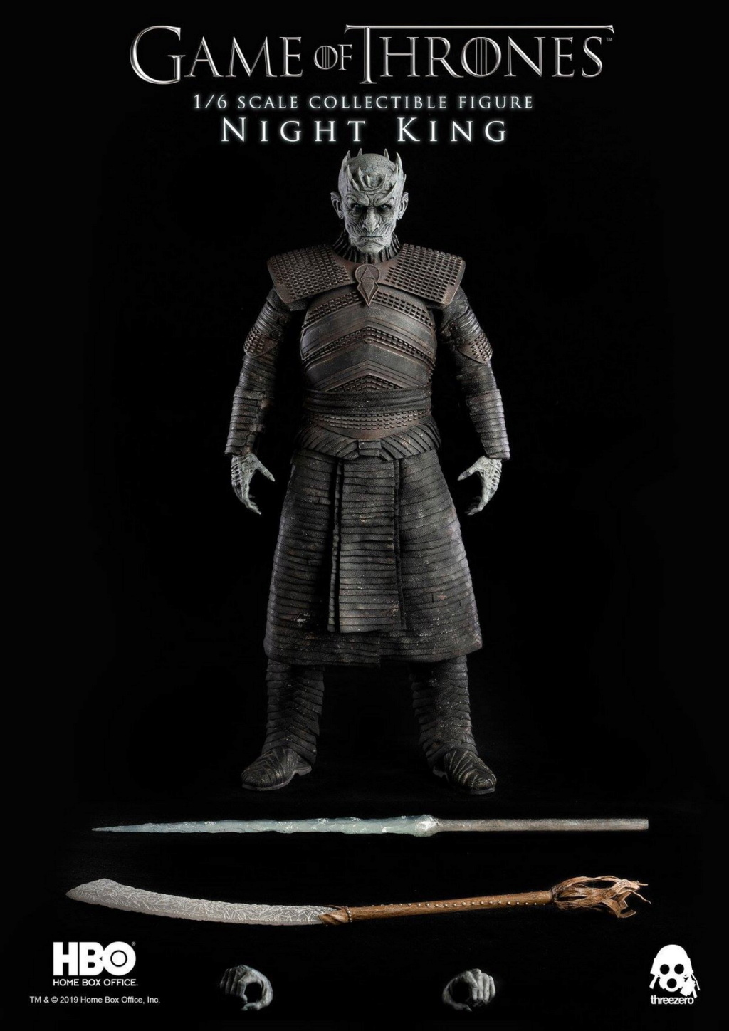 "fantasy - NEW PRODUCT: ThreeZero: 1/6 ""Game of Thrones"" - Night King / Night King 11005810"