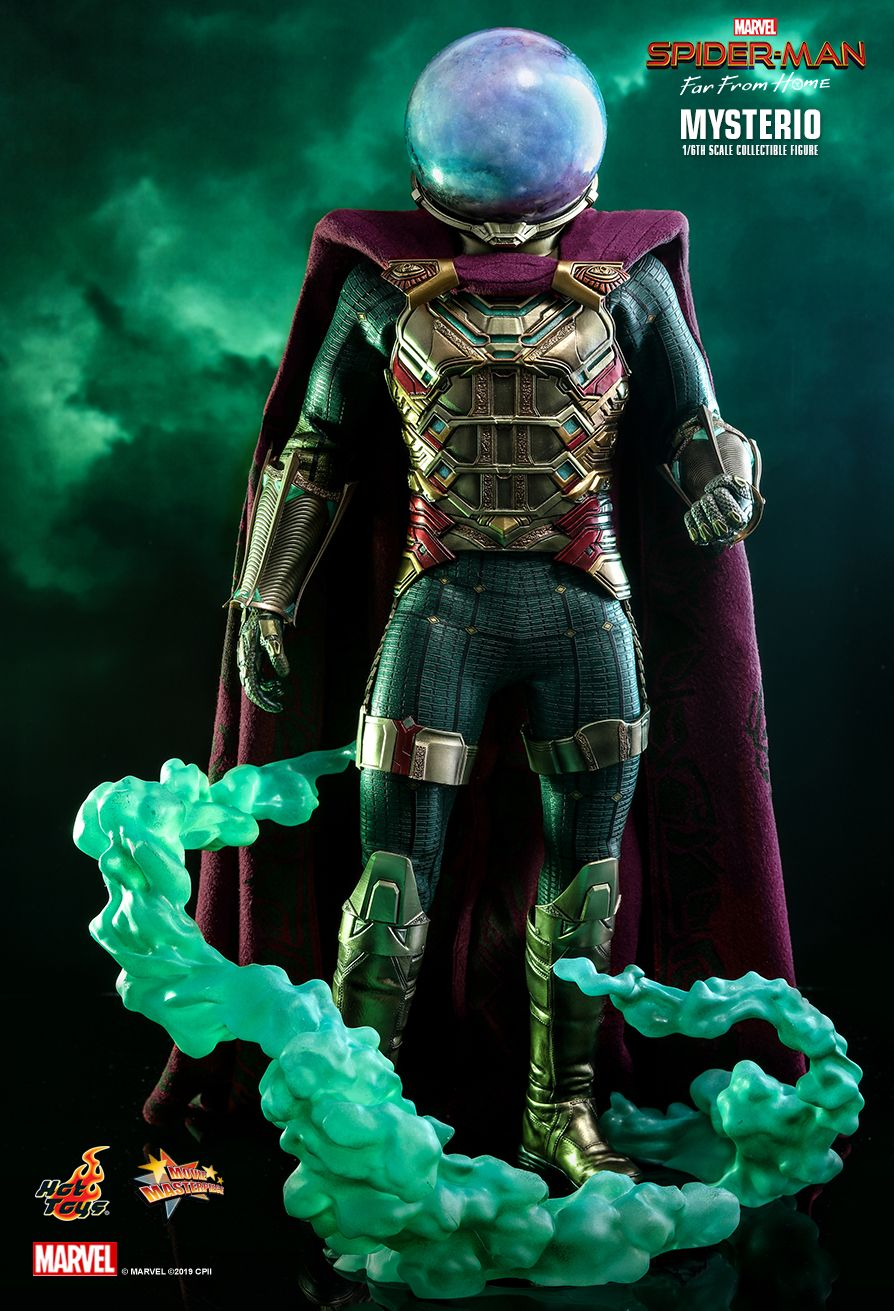 NEW PRODUCT: HOT TOYS: SPIDER-MAN: FAR FROM HOME MYSTERIO 1/6TH SCALE COLLECTIBLE FIGURE 11016