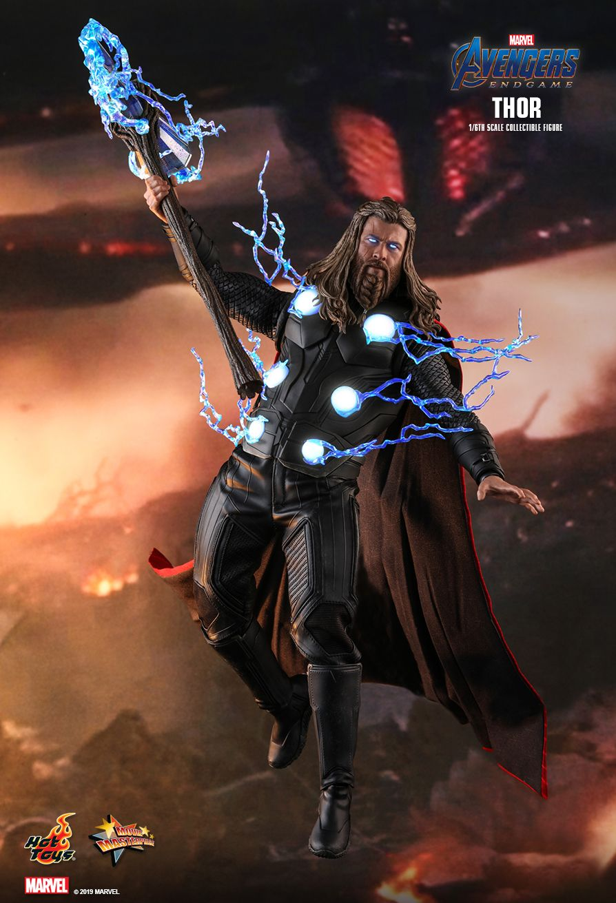 marvel - NEW PRODUCT: HOT TOYS: AVENGERS: ENDGAME THOR 1/6TH SCALE COLLECTIBLE FIGURE 11027