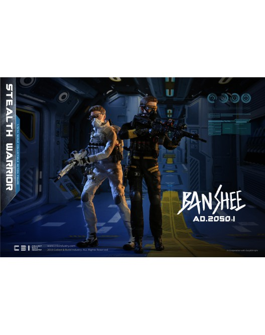 Military - NEW PRODUCT: C&D Industry 1/6 Scale AD.2050.I BANSHEE (2 versions) 11029