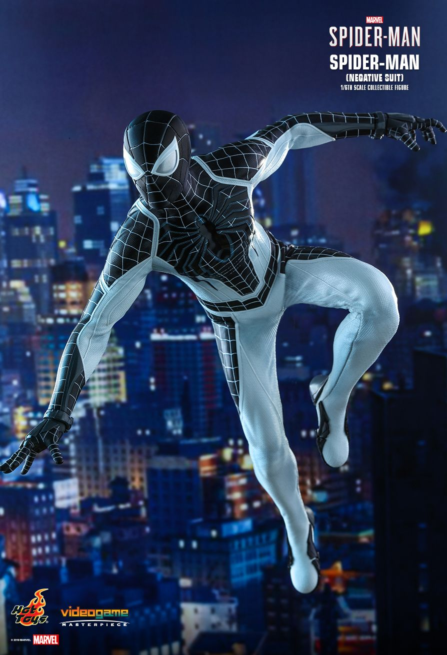 Spider-Man - NEW PRODUCT: HOT TOYS: MARVEL'S SPIDER-MAN SPIDER-MAN (NEGATIVE SUIT) 1/6TH SCALE COLLECTIBLE FIGURE (EXCLUSIVE EDITION) 11036