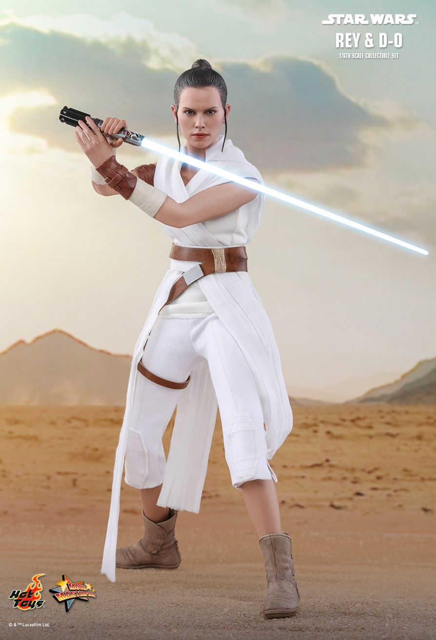 Rey - NEW PRODUCT: HOT TOYS: STAR WARS: THE RISE OF SKYWALKER REY AND D-O 1/6TH SCALE COLLECTIBLE FIGURE 11037
