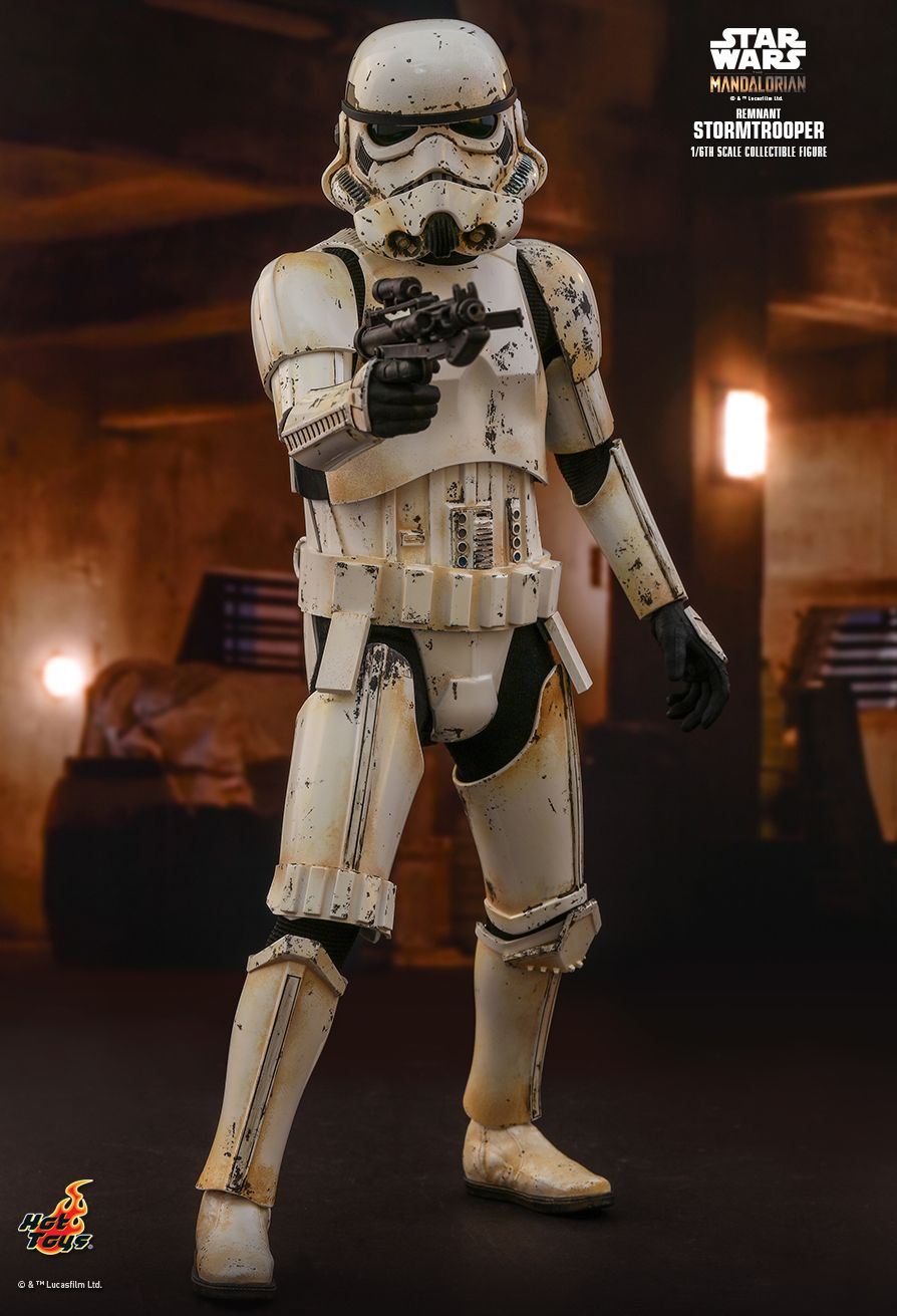 sci-fi - NEW PRODUCT: HOT TOYS: THE MANDALORIAN REMNANT STORMTROOPER 1/6TH SCALE COLLECTIBLE FIGURE 11050