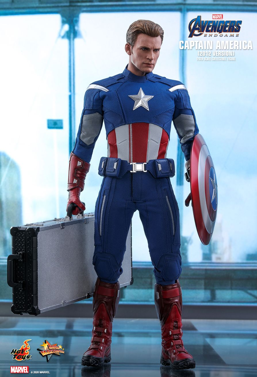 movie - NEW PRODUCT: HOT TOYS: AVENGERS: ENDGAME CAPTAIN AMERICA (2012 VERSION) 1/6TH SCALE COLLECTIBLE FIGURE 11053