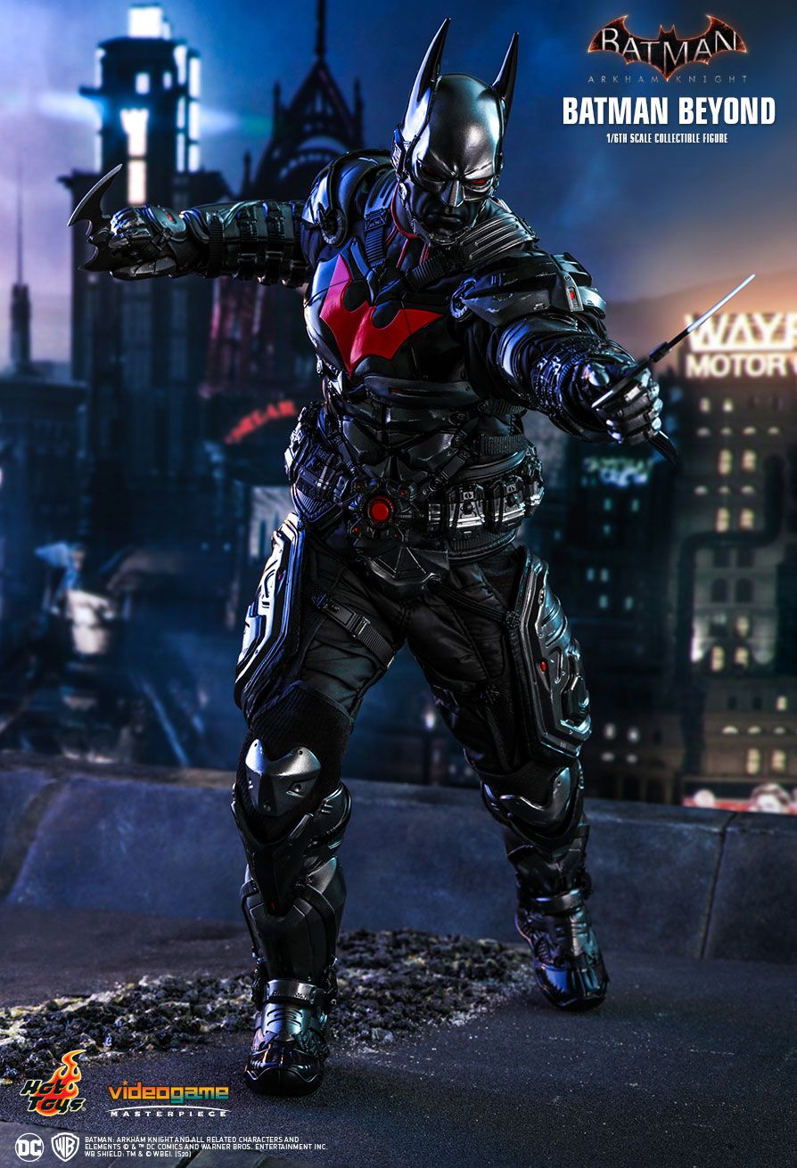 BatmanBeyond - NEW PRODUCT: HOT TOYS: BATMAN: ARKHAM KNIGHT BATMAN BEYOND 1/6TH SCALE COLLECTIBLE FIGURE 11061
