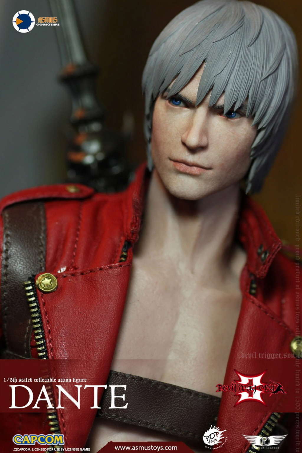 NEW PRODUCT: Asmus Toys: 1/6 Devil May Cry3/DMC3/Devil May Cry 3 - The DANTE/Dante (DMC301) 11061110