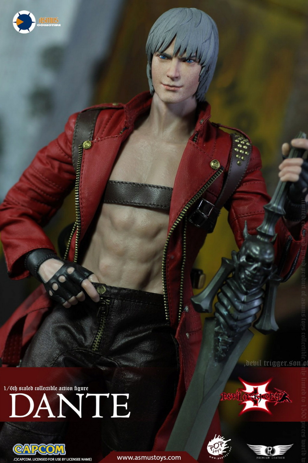 NEW PRODUCT: Asmus Toys: 1/6 Devil May Cry3/DMC3/Devil May Cry 3 - The DANTE/Dante (DMC301) 11061510