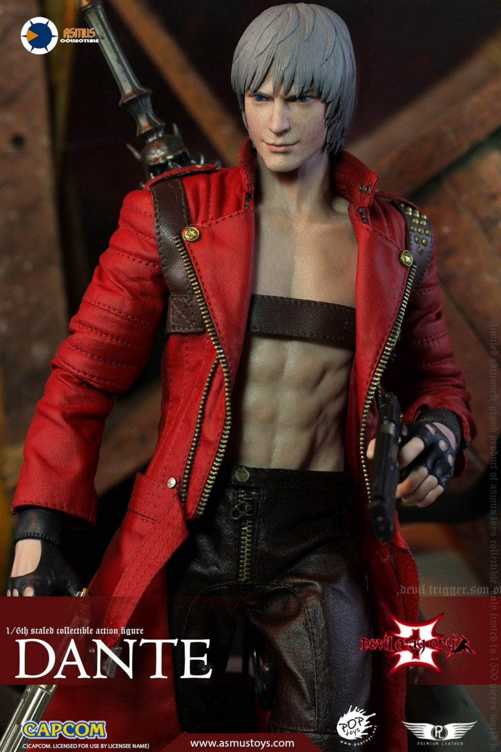NEW PRODUCT: Asmus Toys: 1/6 Devil May Cry3/DMC3/Devil May Cry 3 - The DANTE/Dante (DMC301) 11063110