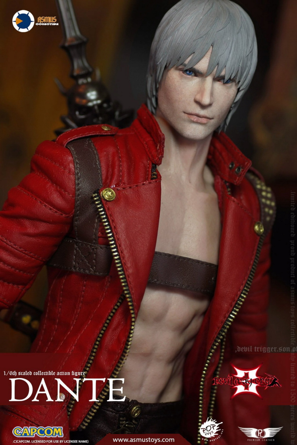 NEW PRODUCT: Asmus Toys: 1/6 Devil May Cry3/DMC3/Devil May Cry 3 - The DANTE/Dante (DMC301) 11063410