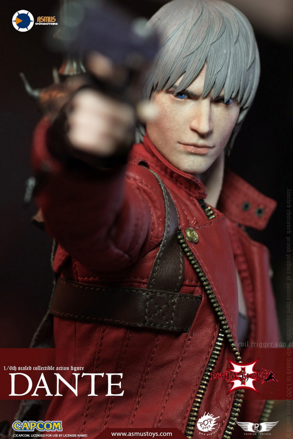 NEW PRODUCT: Asmus Toys: 1/6 Devil May Cry3/DMC3/Devil May Cry 3 - The DANTE/Dante (DMC301) 11063710