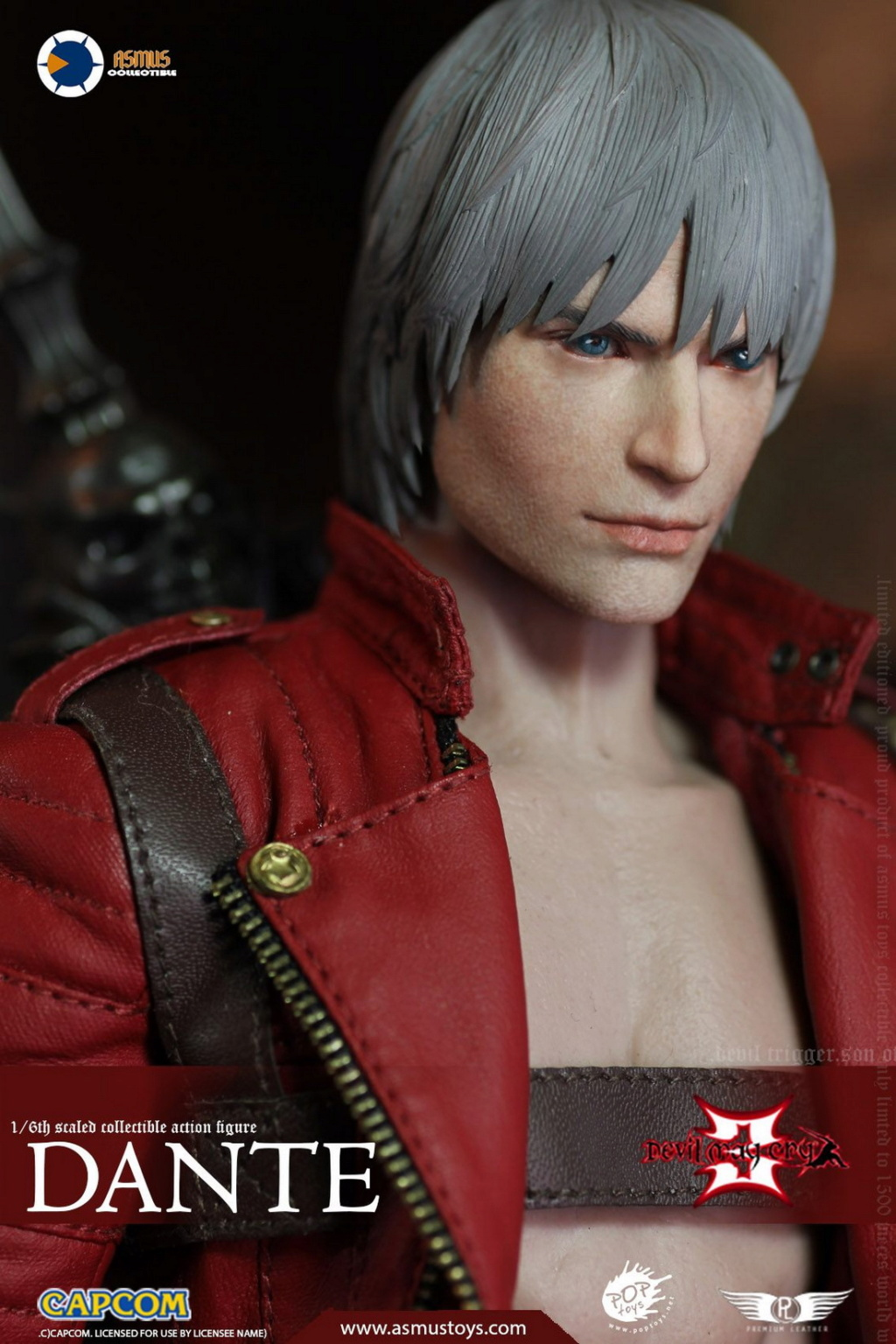NEW PRODUCT: Asmus Toys: 1/6 Devil May Cry3/DMC3/Devil May Cry 3 - The DANTE/Dante (DMC301) 11064110