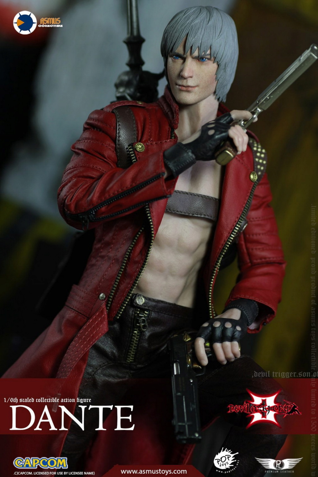 NEW PRODUCT: Asmus Toys: 1/6 Devil May Cry3/DMC3/Devil May Cry 3 - The DANTE/Dante (DMC301) 11065411