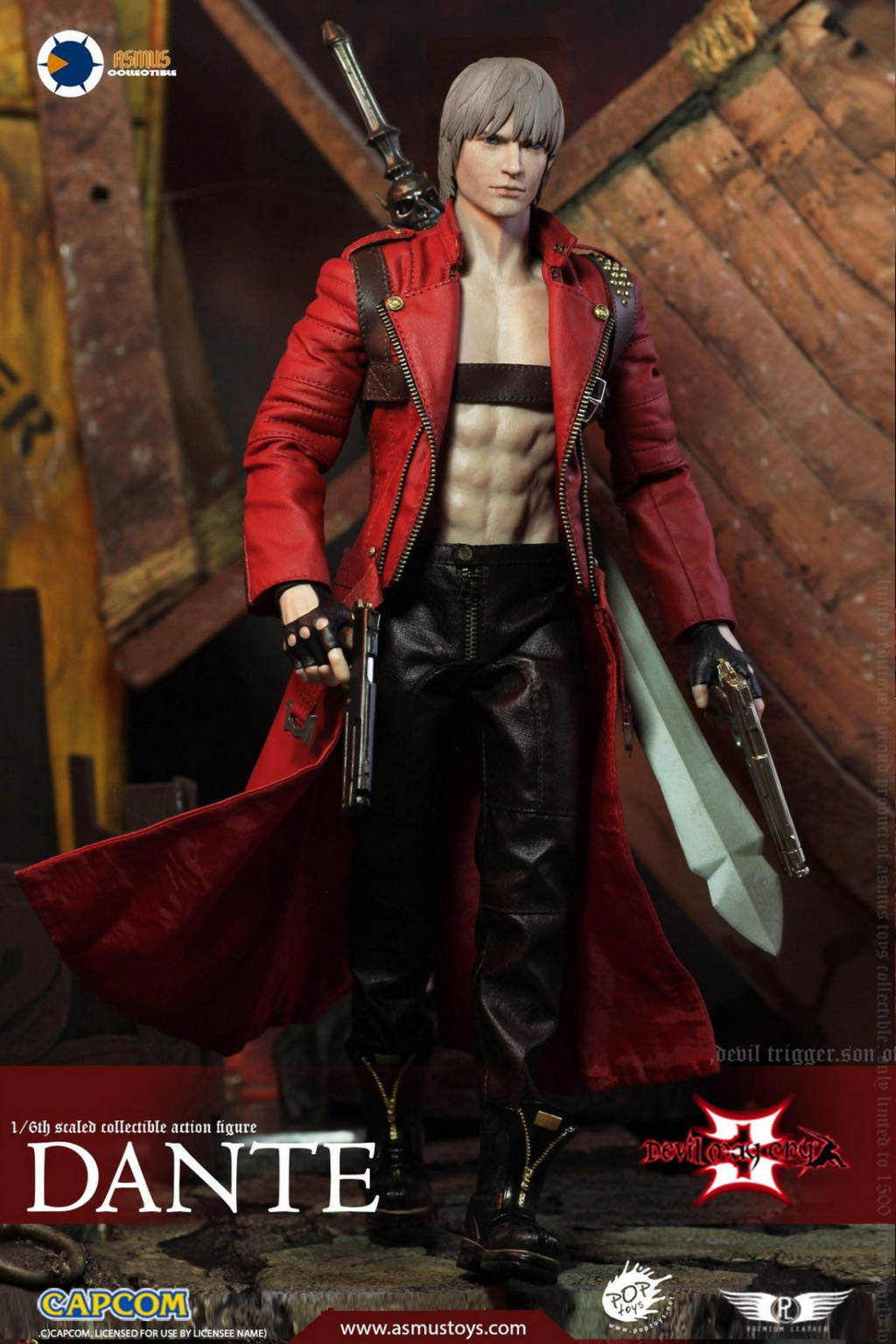 NEW PRODUCT: Asmus Toys: 1/6 Devil May Cry3/DMC3/Devil May Cry 3 - The DANTE/Dante (DMC301) 11065910