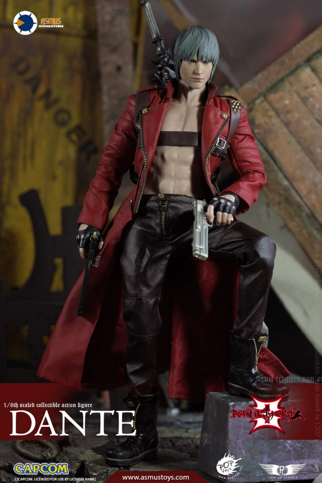 NEW PRODUCT: Asmus Toys: 1/6 Devil May Cry3/DMC3/Devil May Cry 3 - The DANTE/Dante (DMC301) 11070310
