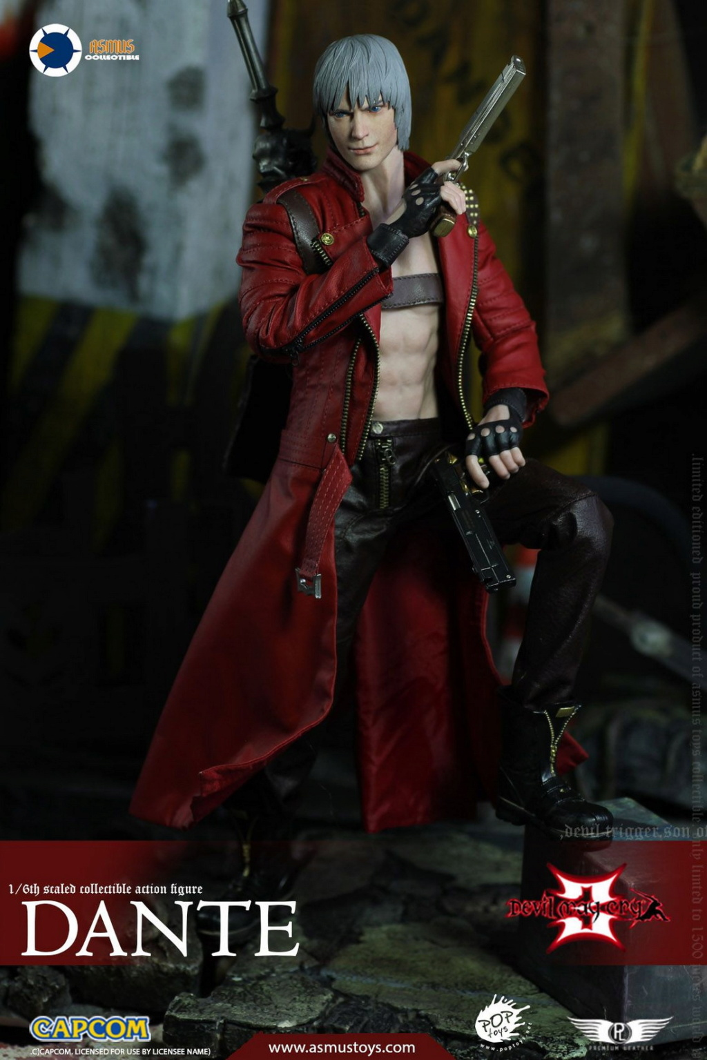 NEW PRODUCT: Asmus Toys: 1/6 Devil May Cry3/DMC3/Devil May Cry 3 - The DANTE/Dante (DMC301) 11070910