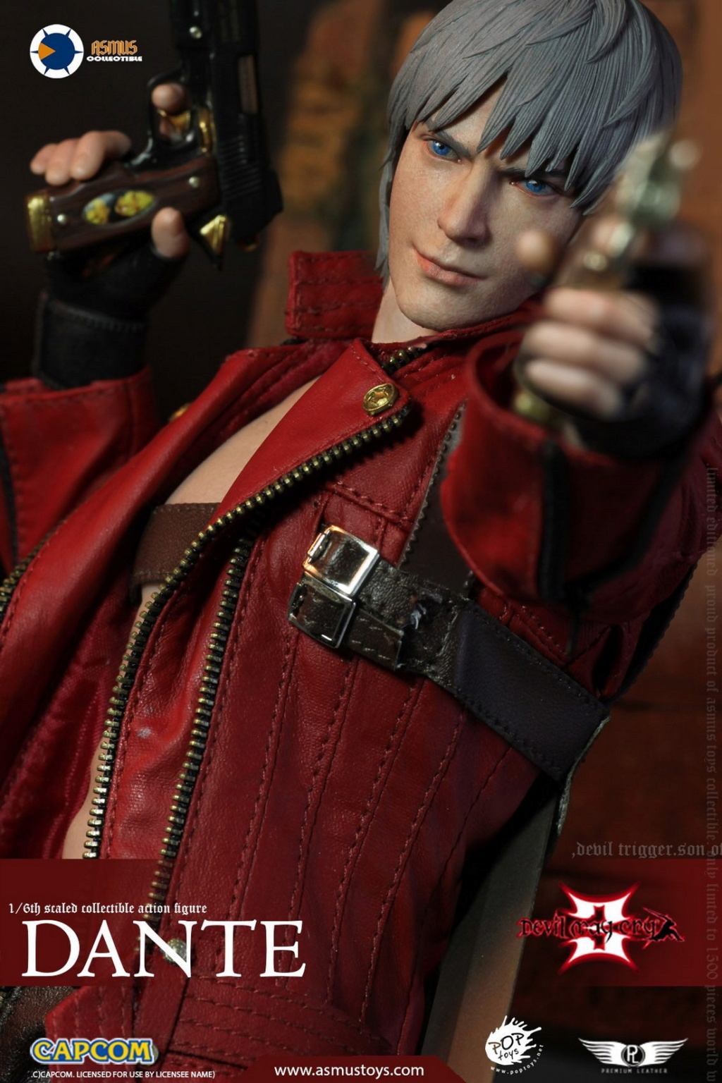 NEW PRODUCT: Asmus Toys: 1/6 Devil May Cry3/DMC3/Devil May Cry 3 - The DANTE/Dante (DMC301) 11071310