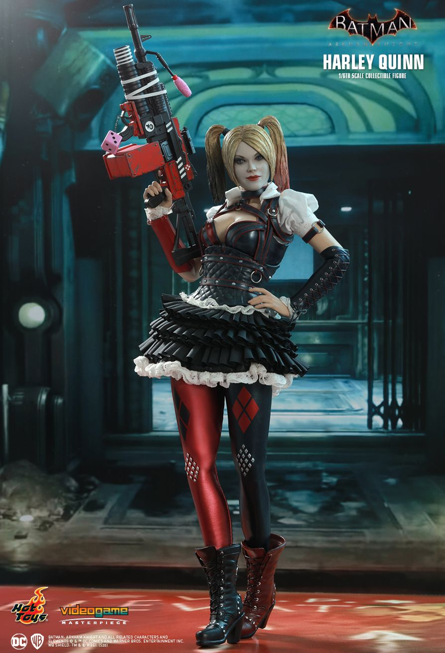 HarleyQuinn - NEW PRODUCT: HOT TOYS: BATMAN: ARKHAM KNIGHT HARLEY QUINN 1/6TH SCALE COLLECTIBLE FIGURE 11075