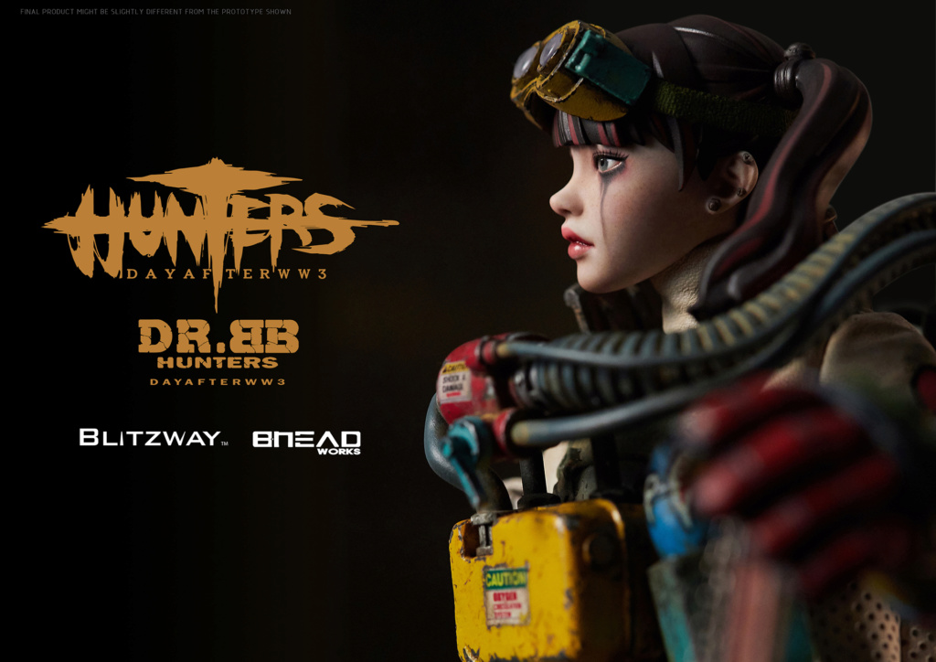 Robot - NEW PRODUCT: Blitzway: 1/6 scale HUNTERS : Day After WWlll: Dr.BB Action Figure 11076
