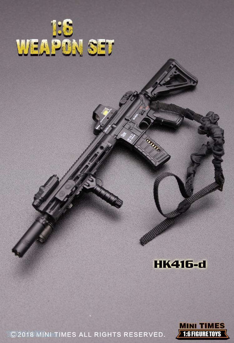 minitimes - NEW PRODUCT: MINI TIMES TOYS: 1/6 scale MR & HK416 weapons sets 11088