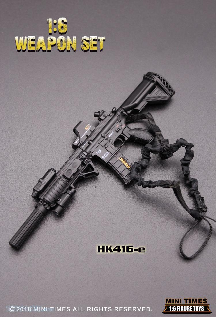 minitimes - NEW PRODUCT: MINI TIMES TOYS: 1/6 scale MR & HK416 weapons sets 11089