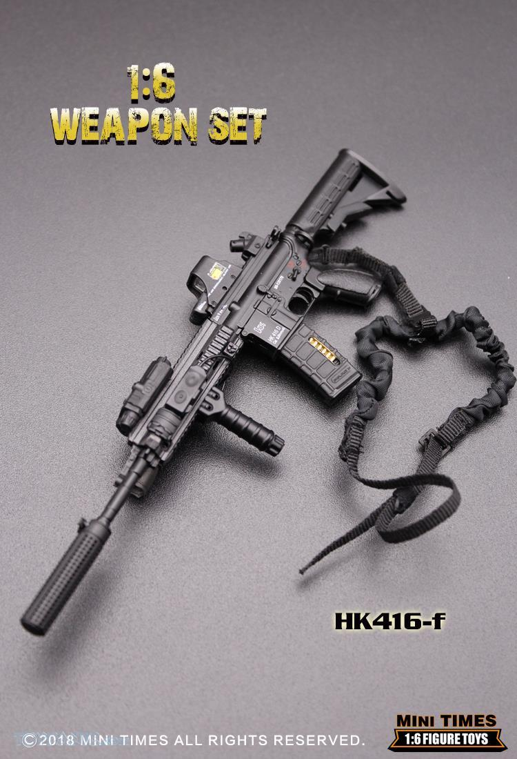 minitimes - NEW PRODUCT: MINI TIMES TOYS: 1/6 scale MR & HK416 weapons sets 11090