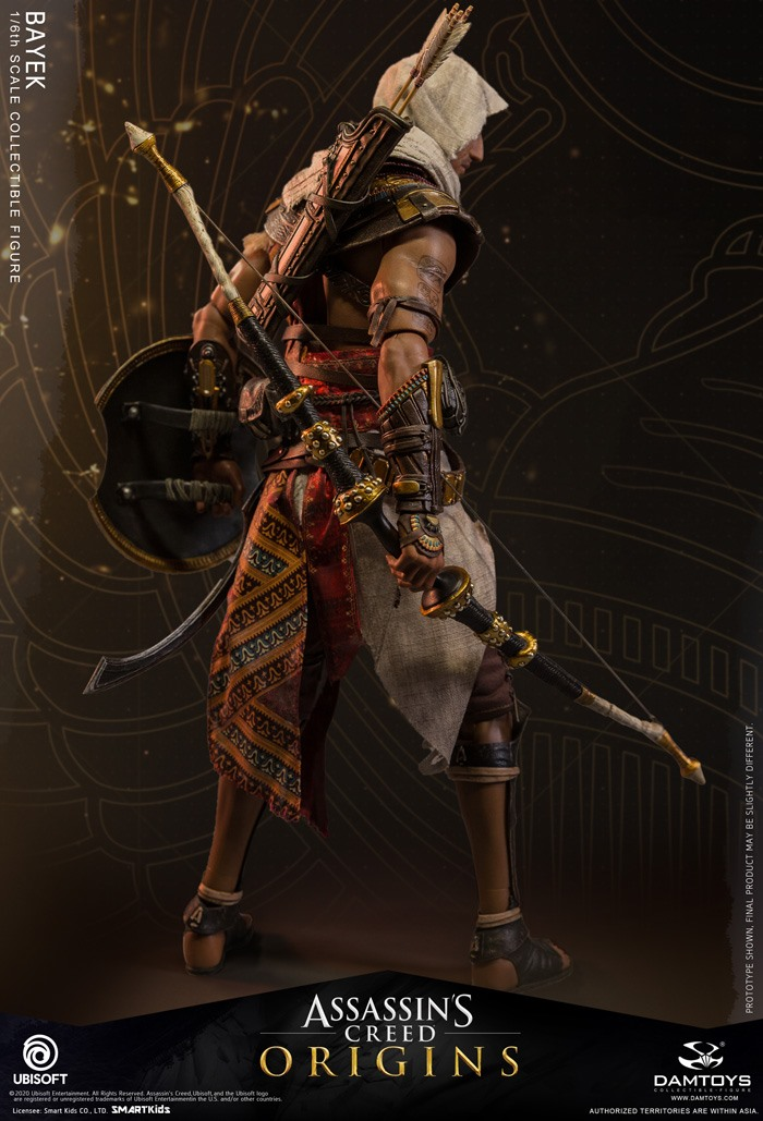 male - NEW PRODUCT: 1/6 DamToys Assassin's Creed Origins - Bayek 1/6 scale figure 11097