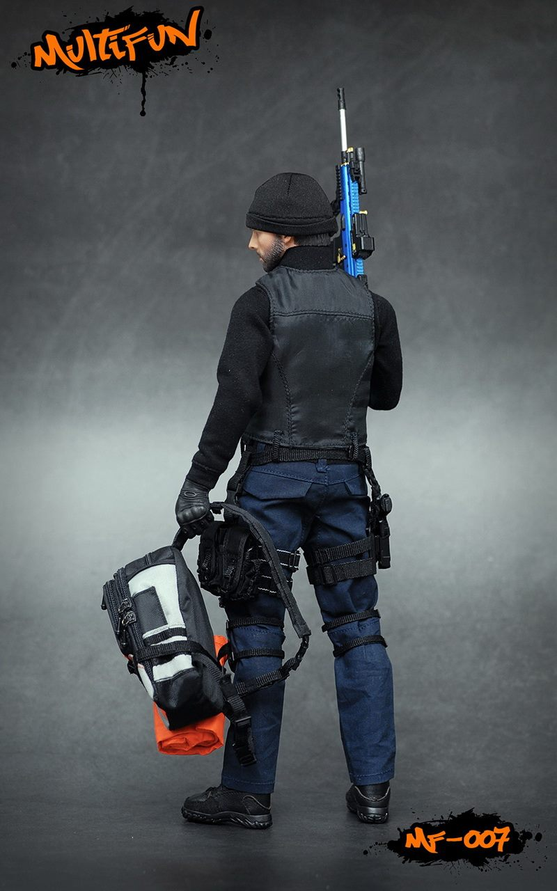 NEW PRODUCT: MULTIFUN 1/6th scale Quarantine Zone Agent 12-inch action figure Set 11105