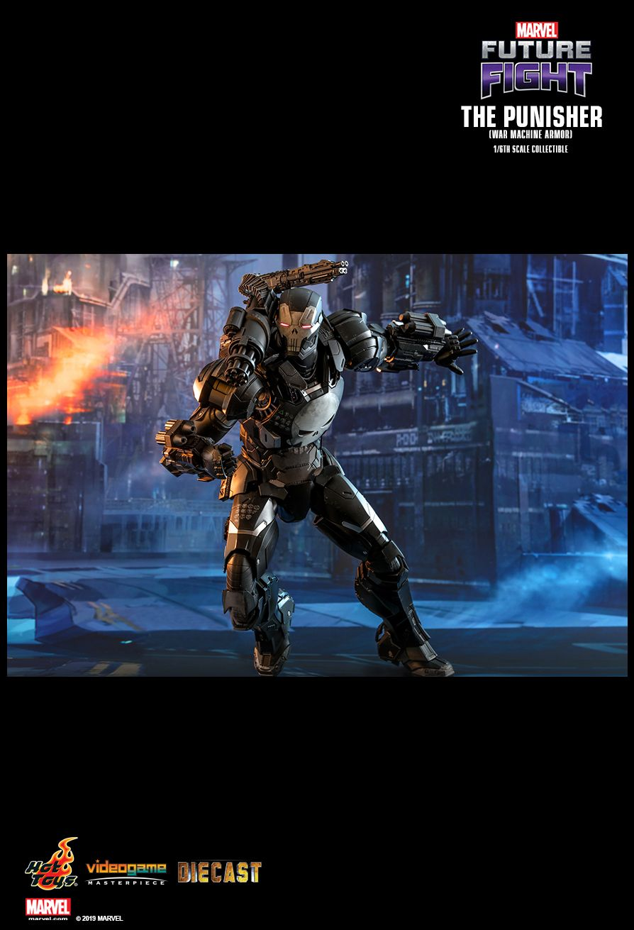 Videogame - NEW PRODUCT: HOT TOYS: MARVEL FUTURE FIGHT THE PUNISHER (WAR MACHINE ARMOR) 1/6TH SCALE COLLECTIBLE FIGURE 11114