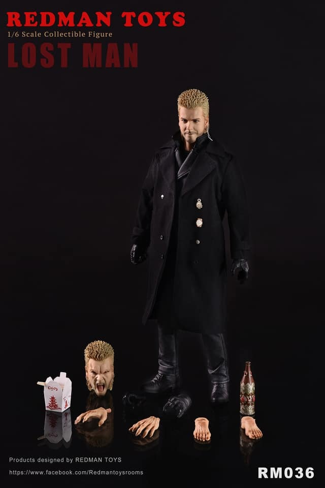 NEW PRODUCT: [RMT-036] The Lost Man 1:6 Collectible Figure by Redman 11115