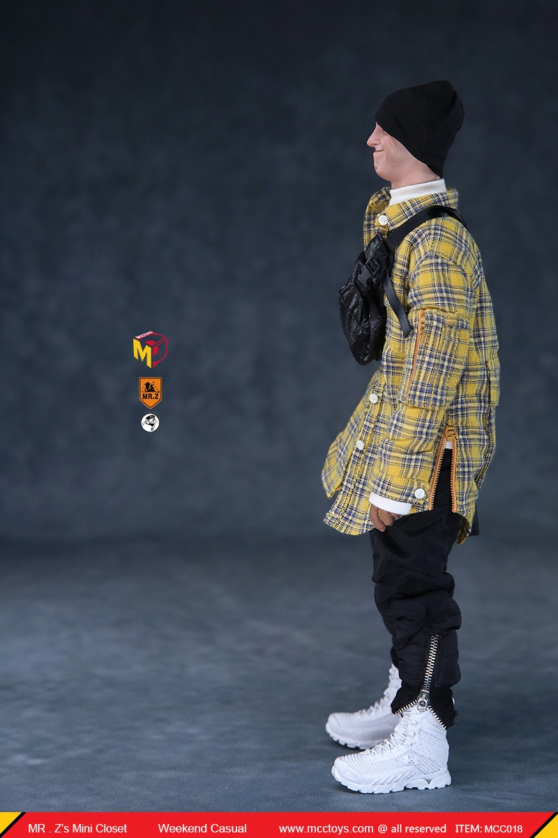 clothes - NEW PRODUCT: MCCToys x Mr.Z: 1/6 Z's Mini Closet Series - Weekend Casual Set (MCC01#) 11118