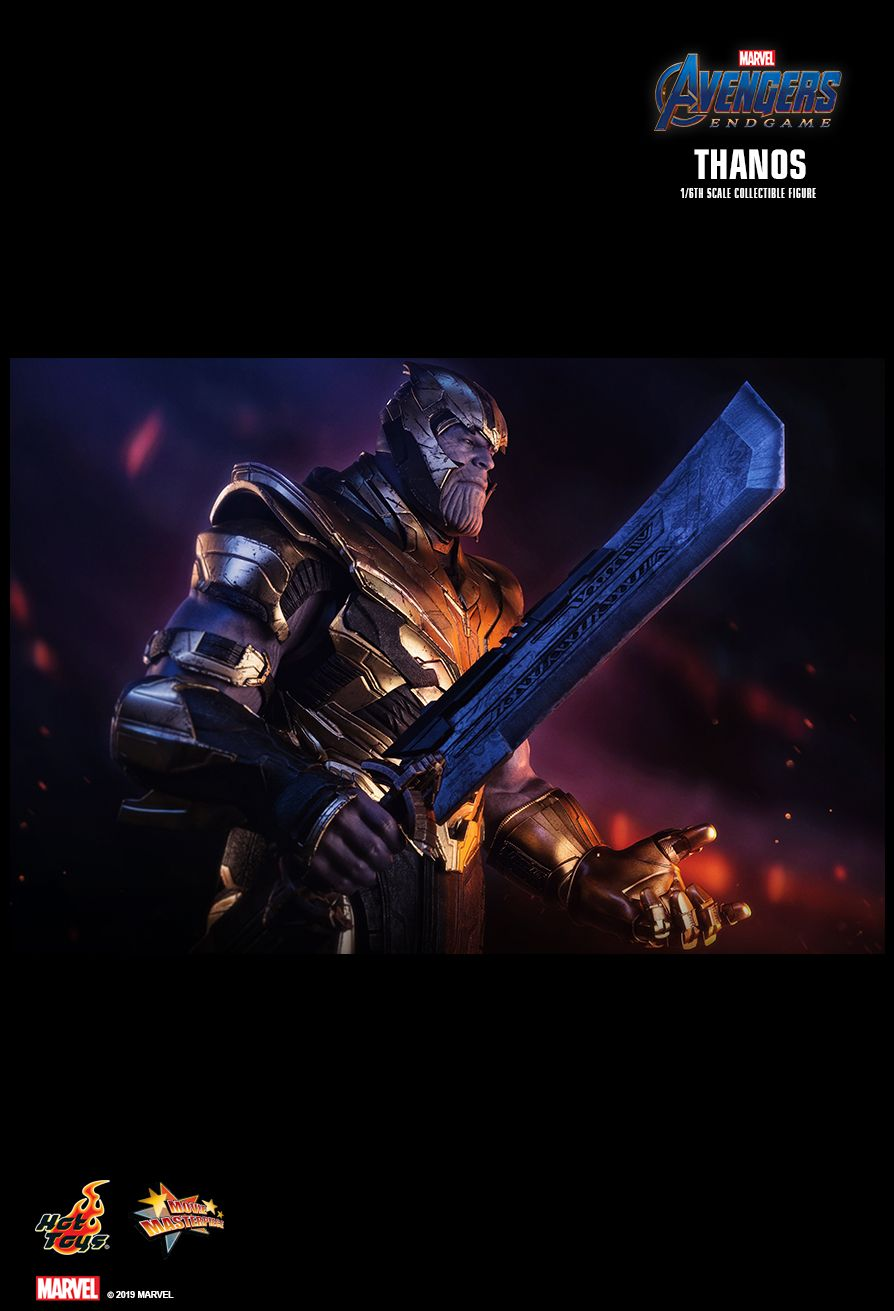 Thanos - NEW PRODUCT: HOT TOYS: AVENGERS: ENDGAME THANOS 1/6TH SCALE COLLECTIBLE FIGURE 11143