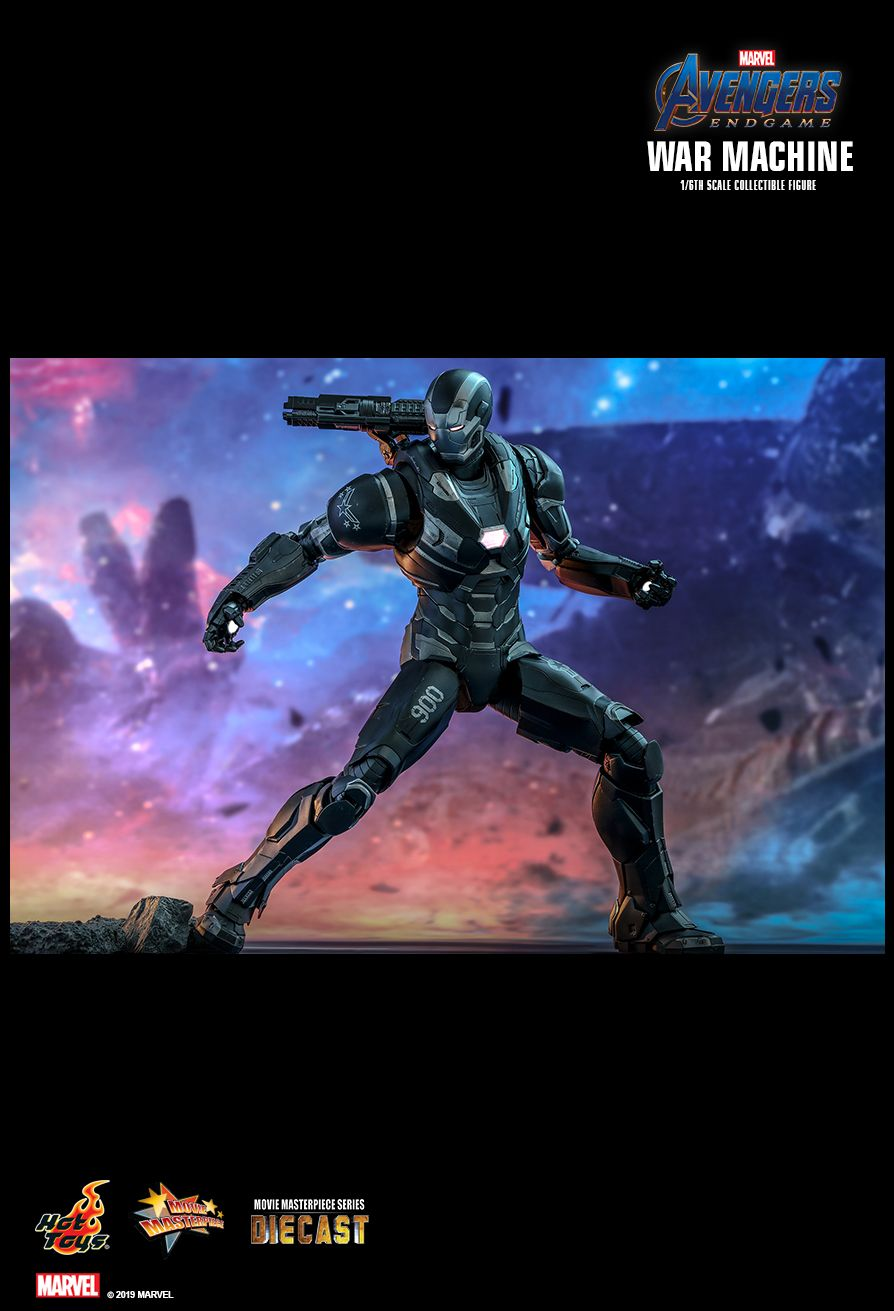 WarMachine - NEW PRODUCT: HOT TOYS: AVENGERS: ENDGAME WAR MACHINE 1/6TH SCALE COLLECTIBLE FIGURE 11148