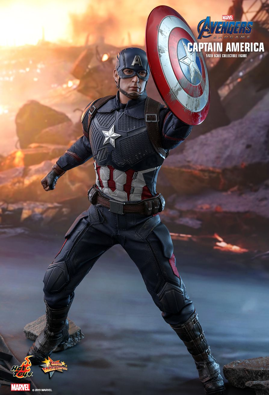 captainamerica - NEW PRODUCT: HOT TOYS: AVENGERS: ENDGAME CAPTAIN AMERICA 1/6TH SCALE COLLECTIBLE FIGURE 11153