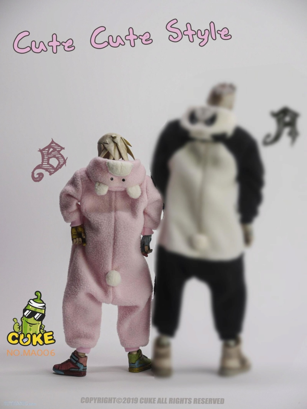 CukeToys - NEW PRODUCT: Cuke Toys: [CK-M006] 1/6 Cute Cute Style 11162014