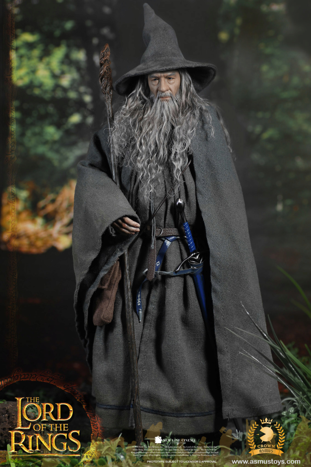 NEW PRODUCT: ASMUS TOYS THE CROWN SERIES : GANDALF THE GREY 1/6 figure 11173