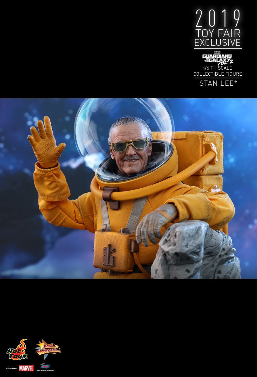 NEW PRODUCT: HOT TOYS: GUARDIANS OF THE GALAXY VOL. 2 STAN LEE® 1/6TH SCALE COLLECTIBLE FIGURE 11175