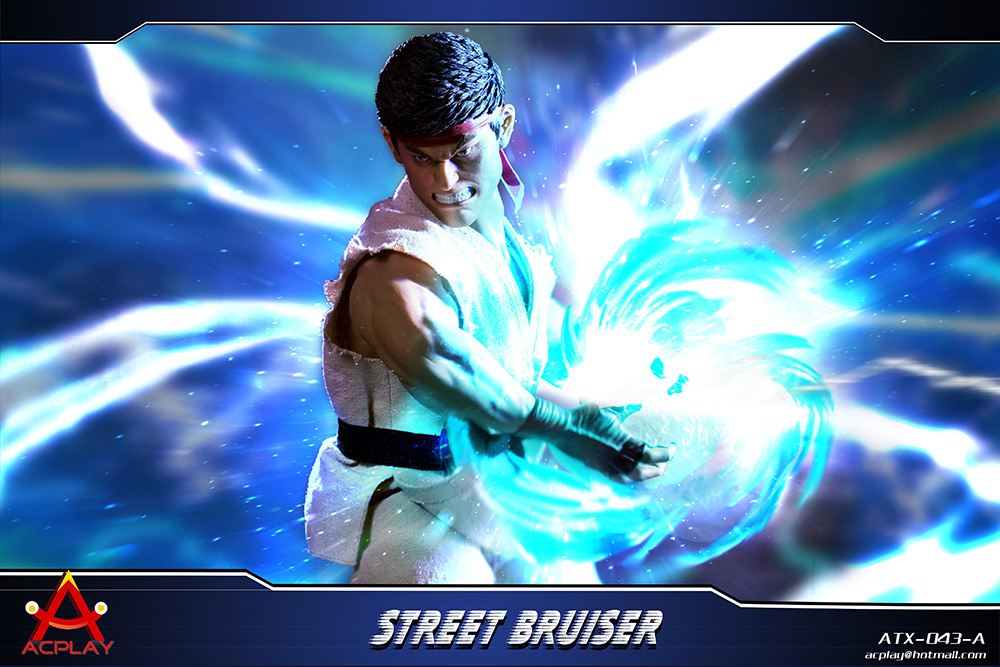 NEW PRODUCT: ACPLAY new products: 1/6 ATX043 Street Fighters practice martial arts A/B suit 11182710