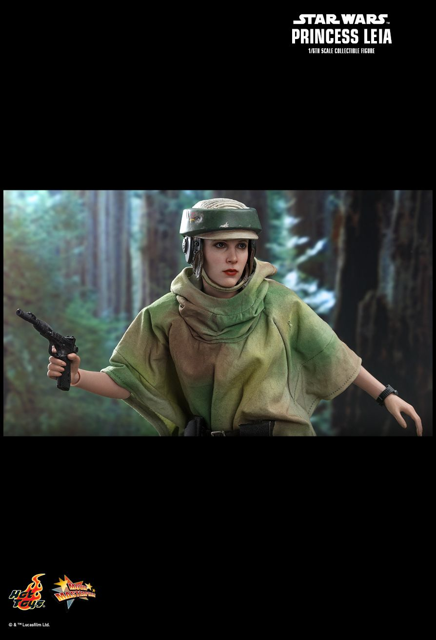 Endor Leia - NEW PRODUCT: HOT TOYS: STAR WARS: RETURN OF THE JEDI PRINCESS LEIA 1/6TH SCALE COLLECTIBLE FIGURE 11183
