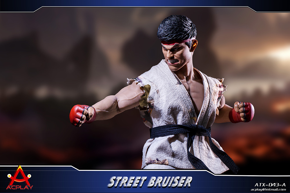 NEW PRODUCT: ACPLAY new products: 1/6 ATX043 Street Fighters practice martial arts A/B suit 11183110