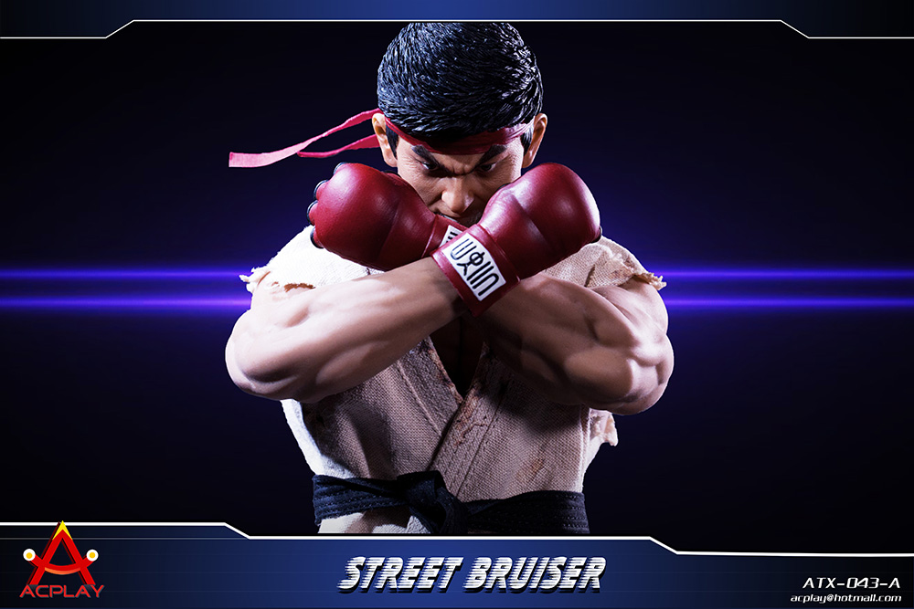NEW PRODUCT: ACPLAY new products: 1/6 ATX043 Street Fighters practice martial arts A/B suit 11183310