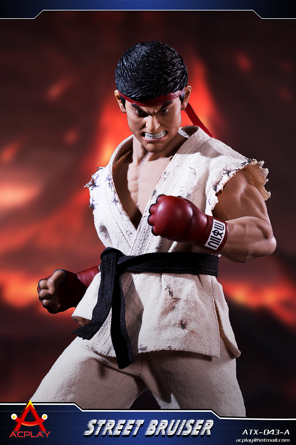NEW PRODUCT: ACPLAY new products: 1/6 ATX043 Street Fighters practice martial arts A/B suit 11183610