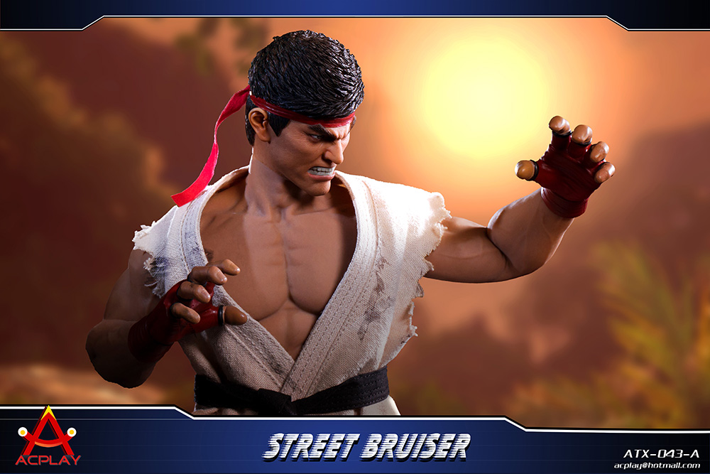 NEW PRODUCT: ACPLAY new products: 1/6 ATX043 Street Fighters practice martial arts A/B suit 11184510