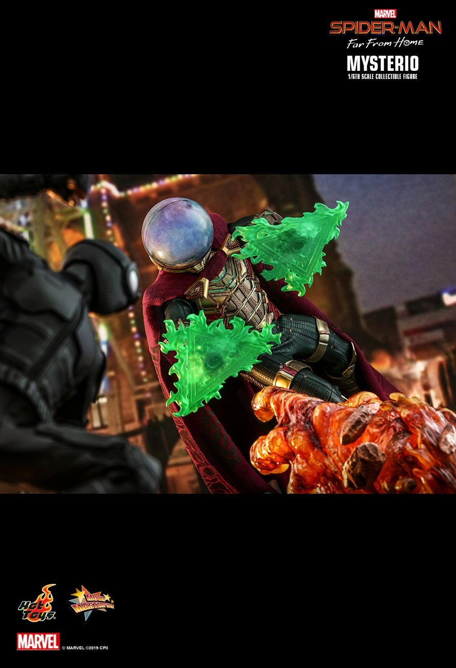 NEW PRODUCT: HOT TOYS: SPIDER-MAN: FAR FROM HOME MYSTERIO 1/6TH SCALE COLLECTIBLE FIGURE 11190