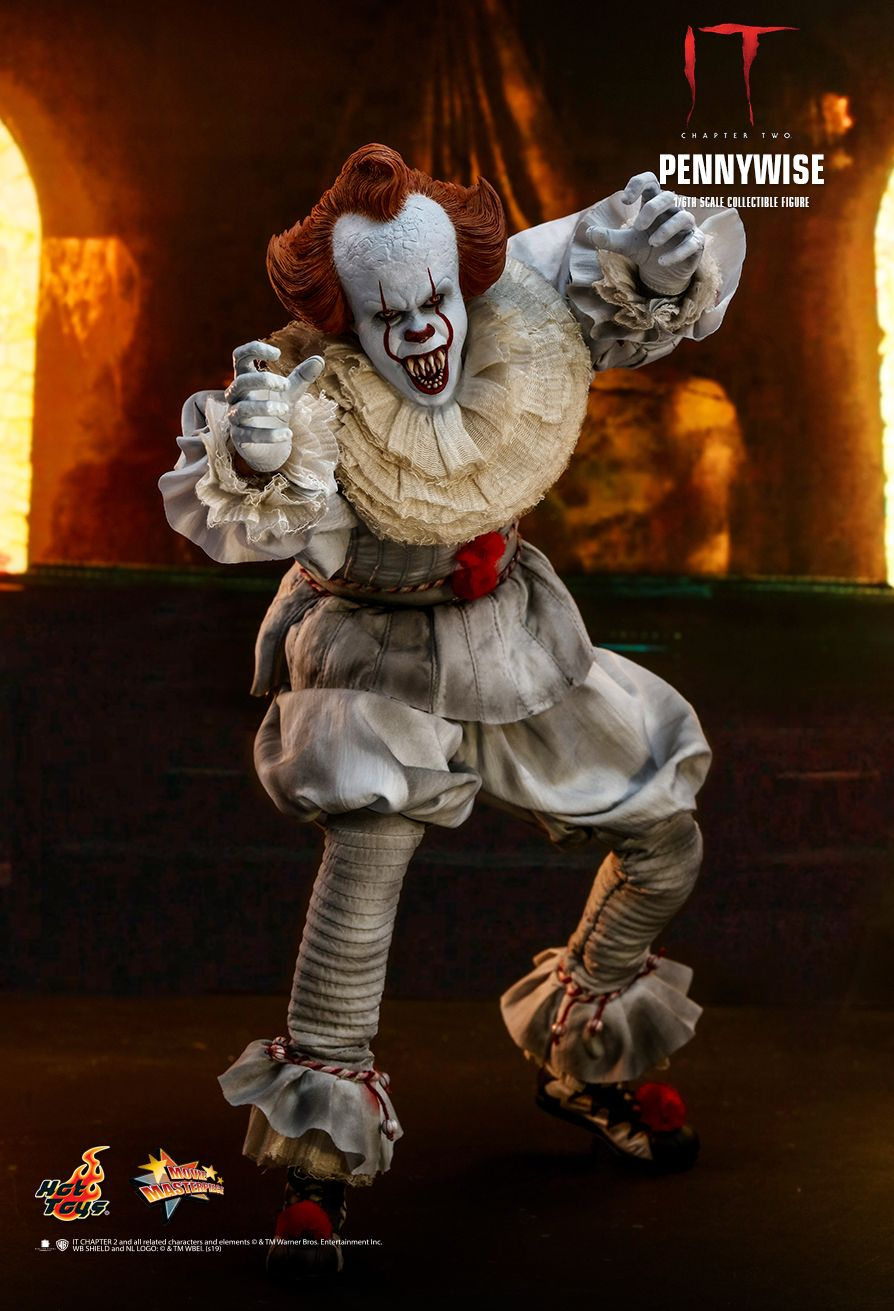 NEW PRODUCT: HOT TOYS: IT CHAPTER TWO PENNYWISE 1/6TH SCALE COLLECTIBLE FIGURE 11191